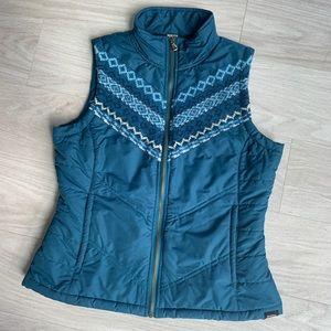 Prana Puffer Vest Size Small